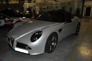 Alfa Romeo 8c competizione roadster