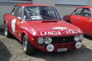 Lancia fulvia 1600HF